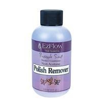 EzFlow Pineapple Scent Polish Remover, 118мл. - жидкость для снятия лака,отдушка ананас