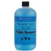 EzFlow Rainforest Scent Polish Remover, 946мл. - жидкость для снятия лака,отдушка лес
