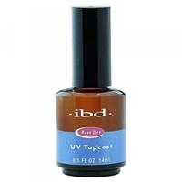 IBD UV Topcoat, 14мл - быстросохнущее верхнее покрытие для лака