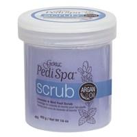 Gena Pedi Spa Scrub, 448 г. - эксфолирующий гель-скраб для ног, увлажняет и питает сухую кожу