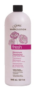 Gena Fresh Scent Warm O Lotion, 946мл. - лосьон для горячего маникюра,аромат свежести