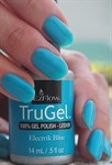 "EzFlow TruGel Electrik Blue, 14мл - гелевый лак ""Электросиний"" - фото 22594"