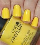 CND VINYLUX #104 Bicycle Yellow,15 мл.- лак для ногтей Винилюкс №104 - фото 4325
