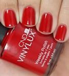 CND VINYLUX #143 Rouge Red,15 мл.- лак для ногтей - фото 4355