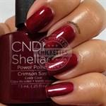 """CND Shellac Crimson Sash, 7,3 мл. - гель лак Шеллак """"Тёмно-красный пояс"""" - фото 4873"""