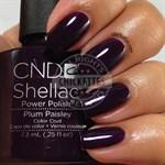 """CND Shellac Plum Paisley, 7,3 мл. - гель лак Шеллак """"Сливовая шаль"""" - фото 4885"""
