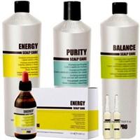 KAYPRO ENERGY | BALANCE | PURITY  - Трихологическая серия для слабых и тонких волос, для жирных волос, против перхоти