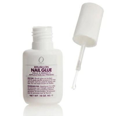 ORLY Brush-On Nail Glue, 5 г. - клей для ногтей с кисточкой