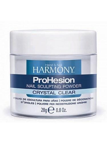 HARMONY ProHesion Crystal Clear Powder, 28 гр. - прозрачная акриловая пудра для наращивания ногтей