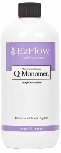 EzFlow Q-Monomer Acrylic Nail Liquid, 450 мл. - акриловая жидкость ИзиФло для наращивания ногтей акрилом