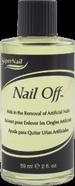 SuperNail Nail Off, 59 мл. - средство для удаления искусственных ногтей - фото 14788