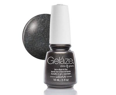 "Gelaze Gel-n-Base Polish Black Diamond, 9.76 мл.- гелевый лак ""Черный бриллиант"" - фото 14803"