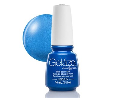 """Gelaze Gel-n-Base Polish Splish Splash, 9.76 мл.- гелевый лак """"Плих-плюх"""" - фото 14809"""