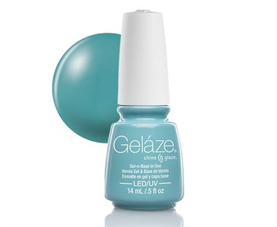 "Gelaze Gel-n-Base Polish For Audrey, 9.76 мл.- гелевый лак ""Посвящается Одри"" - фото 14811"
