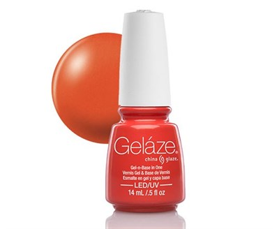 "Gelaze Gel-n-Base Polish Coral Star, 9.76 мл.- гелевый лак ""Коралловая звезда"" - фото 14818"