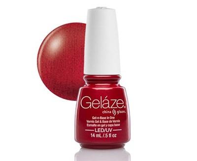 """Gelaze Gel-n-Base Polish Red Pearl, 9.76 мл.- гелевый лак """"Красная жемчужина"""" - фото 14821"""