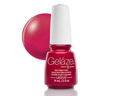 "Gelaze Gel-n-Base Polish Sexy Silhouette, 9.76 мл.- гелевый лак ""Сексапильный"" - фото 14823"