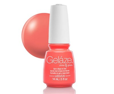 "Gelaze Gel-n-Base Polish Flip Flop Fantasy, 9.76 мл.- гелевый лак ""Фантазия флип-флоп"" - фото 14828"
