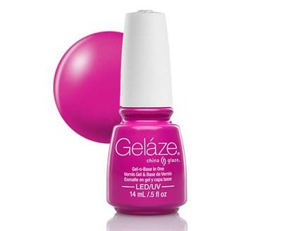 "Gelaze Gel-n-Base Polish Purple Panic, 9.76 мл.- гелевый лак ""Пурпурная паника"" - фото 14830"