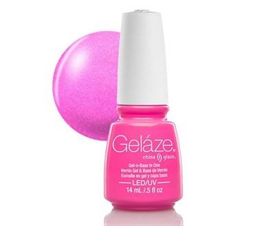 """Gelaze Gel-n-Base Polish Hang-Ten Toes, 9.76 мл.- гелевый лак """"Вкусный розовый"""" - фото 14833"""