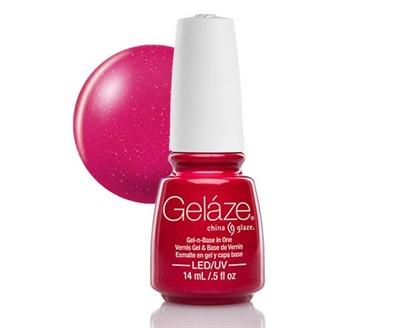 "Gelaze Gel-n-Base Polish Strawberry Fields, 9.76 мл.- гелевый лак ""Клубничная поляна"" - фото 14837"