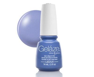 """Gelaze Gel-n-Base Polish Secret Peri-winkle, 9.76 мл.- гелевый лак """"Нежная сирень"""" - фото 14840"""