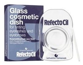 RefectoCil Glass Mixing Dish  - Блюдце для смешивания краски, стекло - фото 14854