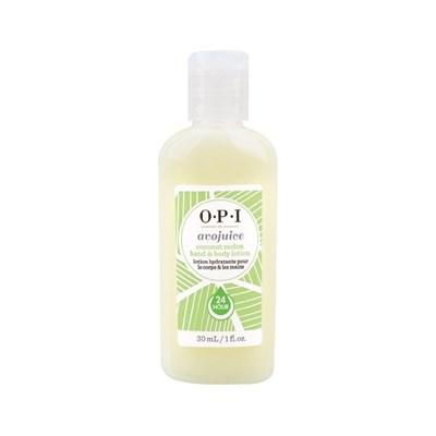 OPI Avojuise Coconut Melon Juice, 30мл.- Фруктовый лосьон для рук и тела,аромат кокос и дыня - фото 14945