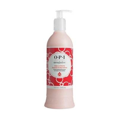 OPI Avojuise Cran & Berry Juicie, 600мл.- Фруктовый лосьон для рук и тела,аромат клюква и брусника - фото 14950