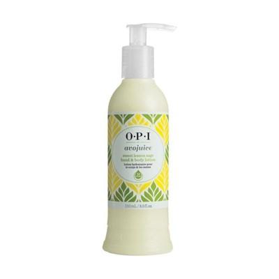 OPI Avojuise Sweet Lemon Sage, 250мл.- Фруктовый лосьон для рук и тела,аромат сладкий лимон - фото 14987