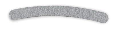 NP Boomerang Zebra 80/80 Grit - пилка для искусственных ногтей бумеранг зебра - фото 15352