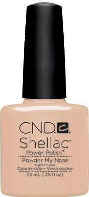 "CND Shellac Powder My Nose, 7,3 мл. - гель лак Шеллак ""Попудрить носик"" - фото 15429"
