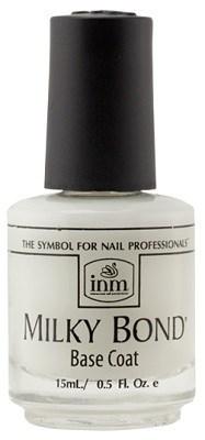 INM Milky Bond Coat, 15 мл.- Молочное базовое покрытие под лак  - фото 16486