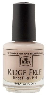 INM Ridge Free Pink, 15 мл. - выравнивающее розовое базовое покрытие под лак