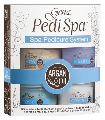 Gena Pedi Spa Pedicure System Set - набор для СПА педикюра в домашних условиях
