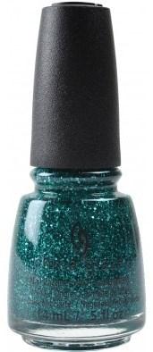 "China Glaze Pine-ing For Glitter, 14 мл. - Лак для ногтей ""Новогодняя елка"" - фото 17526"