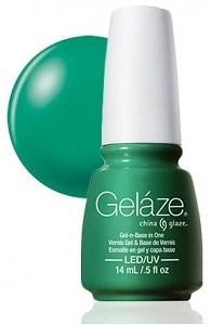 "Gelaze Gel-n-Base Polish Four Leaf Clover, 9.76 мл.- гелевый лак ""Четырехлистный клевер"" - фото 18131"