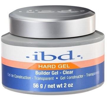 IBD Builder Gel Clear, 56мл. - прозрачный моделирующий гель для наращивания ногтей