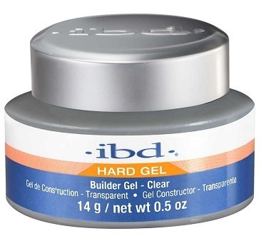 IBD Builder Gel Clear, 14 мл. - прозрачный моделирующий гель для наращивания ногтей