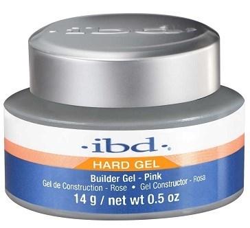 IBD Builder Gel Pink, 14 г. - розовый моделирующий гель для наращивания ногтей