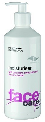 Strictly Moisturiser Lotion for Normal/Dry Skin, 500ml.- Увлажняющая эмульсия с миндальным маслом для нормальной и сухой кожи - фото 19166