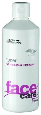 Strictly Toner with Collagen for Dry/Mature Skin, 500ml.- Увлажняющий тоник с коллагеном для сухой и увядающей кожи - фото 19199