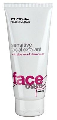 Strictly Sensitive Facial Exfoliant with Aloe Vera & Chamomile, 100ml.- Скраб эксфолиант для чувствительной кожи лица - фото 19229