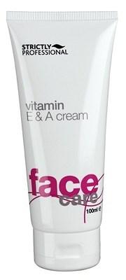Strictly Vitamin E&A Cream, 100ml.- Обогащенный питательный крем для лица с витаминами А и Е - фото 19246