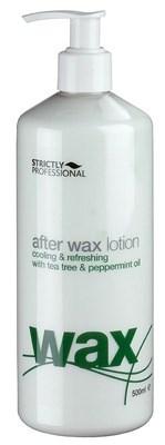 Strictly After Wax Lotion with Tea Tree & Peppermint, 500мл.- лосьон после депиляции охлаждающий и увлажняющий - фото 19276