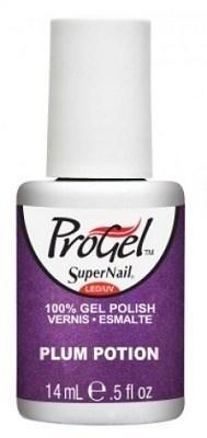 """SuperNail ProGel Plum Potion, 14 мл. - гелевый лак """"Сливовая настойка"""" - фото 20497"""