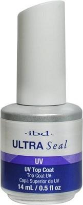 IBD Ultra Seal Clear, 14 мл. - верхнее покрытие для геля с липким слоем (3 фаза)