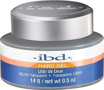 IBD LED/UV Clear Gel, 14 г. – прозрачный укрепляющий гель для ногтей - фото 21834