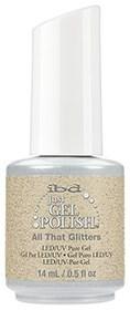 "IBD Just Gel Polish All That Glitters, 14 мл. - гель лак IBD ""Все, что блестит"" - фото 21908"