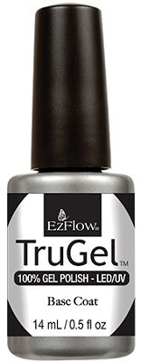EzFlow TruGel Base Coat, 14 мл. - база для гель лака - фото 22121